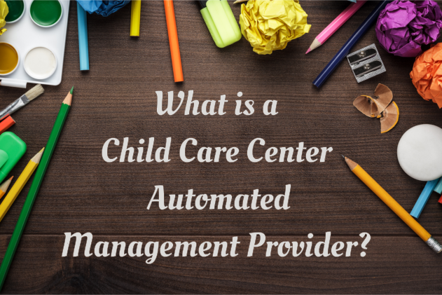 What is a Child Care Center Automated Management Provider?